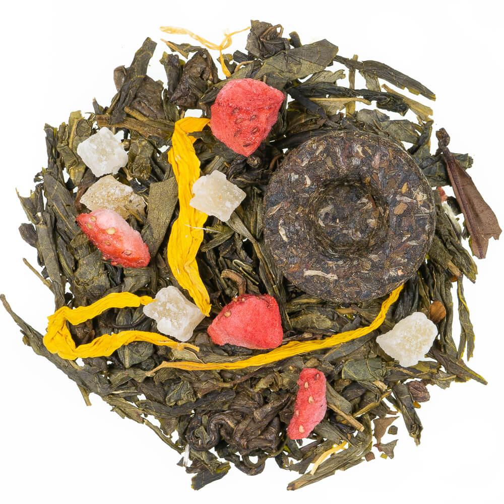 grüner Tee - Die Acht Schätze des Shaolin