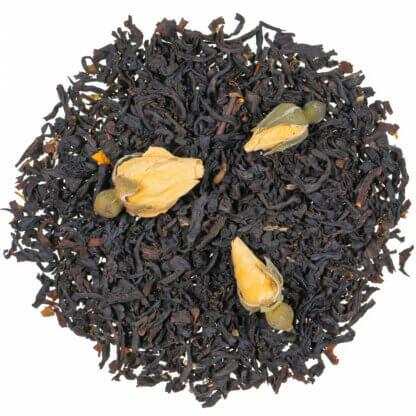 schwarzer Tee - Venezianische Rose